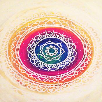 Rainbow Mandala by Courtney James