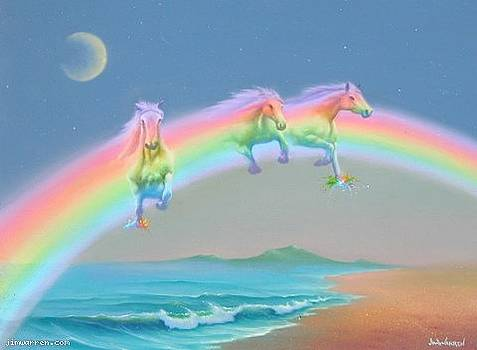 Rainbow of Life by Jim Warren
