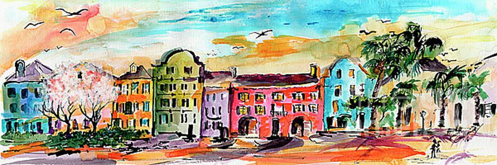 Ginette Callaway - Rainbow Row Charleston South Carolina