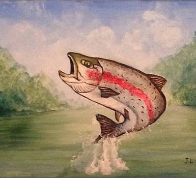 Rainbow Trout by Justin Lee Williams