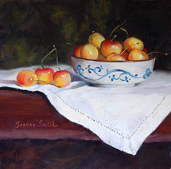 Rainier Cherries by Jeanne Rosier Smith