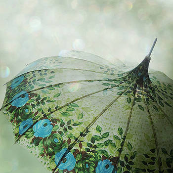Raining Bokeh by Sally Banfill
