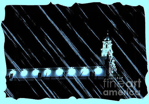 Raining On Todos Santos by Al Bourassa