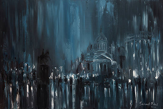 Rainy city. Saint Petersburg by Salavat Fidai
