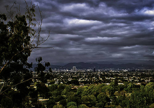 Rainy Day In L A by Joseph Hollingsworth