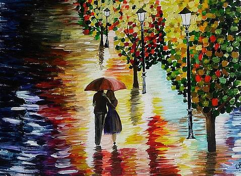 Rainy night by Dawn Plyler