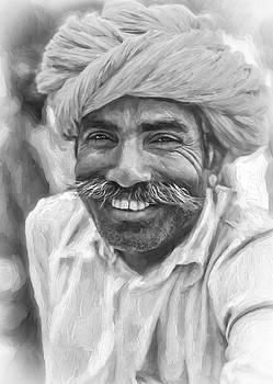 Steve Harrington - Rajput High School Teacher - Paint bw