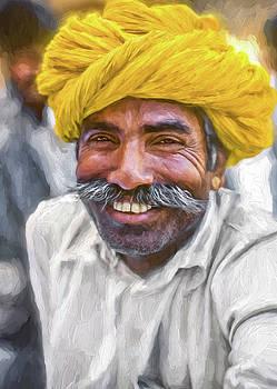 Steve Harrington - Rajput High School Teacher - Paint