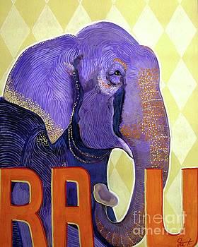 Raju The Elephant Who Cried by Dia T