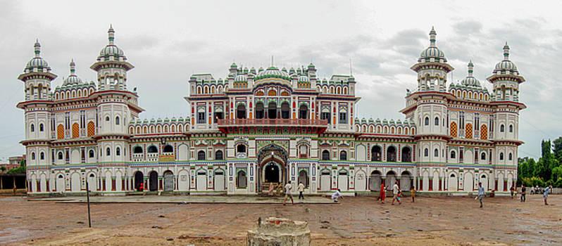 Ram Janaki Temple Dhanusha by Sobertramp