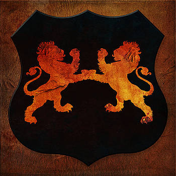 Rampant Lions by Terry Fleckney