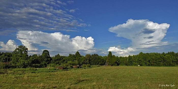 Randolph County Evening Storms by Matt Taylor