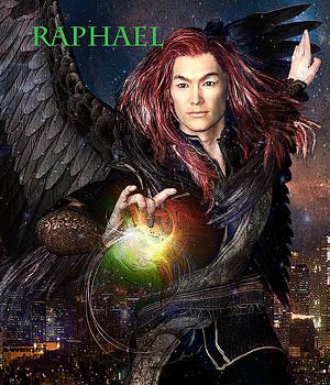 Raphael Angel of Healing 2 by Suzanne Silvir