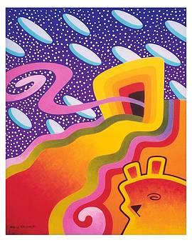 Rasp-Beary Swirl by William Krupinski
