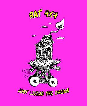 RAT 4x4 - JUST LIVING THE DREAM by Kim Gauge