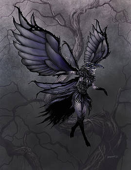 Raven Fairy by Stanley Morrison