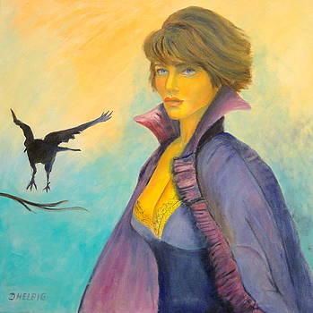 Ravengirl by Dagmar Helbig
