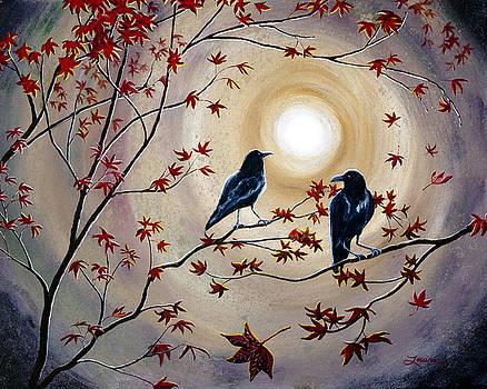 Laura Iverson - Ravens in Autumn