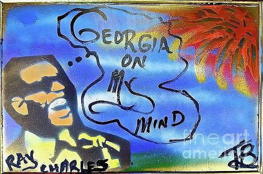 Ray Charles Georgia On My Mind by Tony B Conscious