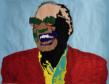 Ray Charles by Stormm Bradshaw