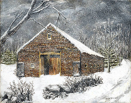 Ray Emerson's Old Barn by Jack Skinner