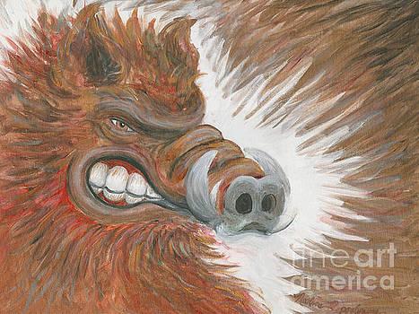 Razorback Fury by Nadine Rippelmeyer