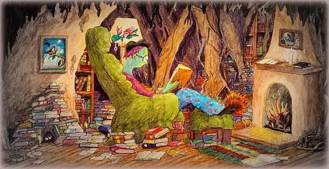 Reading is Magic pg 1 by Matt Konar