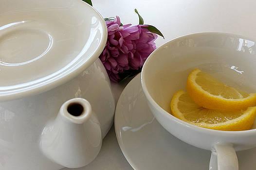 Ready For Tea by Marinela Feier