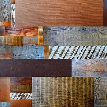 Michelle Calkins - Reclaimed Wood Collage 3.0