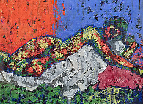 Reclining by Bruce McMillan
