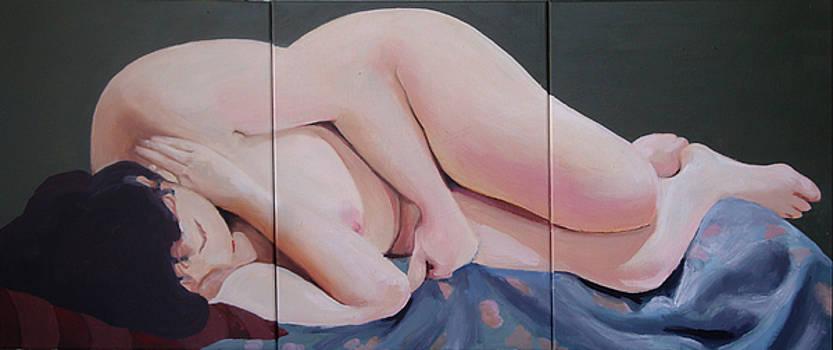 Reclining Nude by Geoff Greene