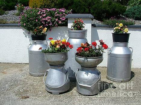 Joe Cashin - Recycled milk churns