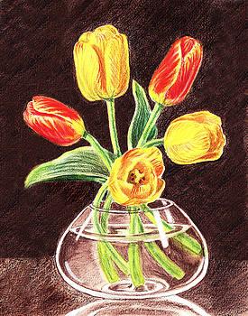 Irina Sztukowski - Red And Yellow Tulips Bouquet