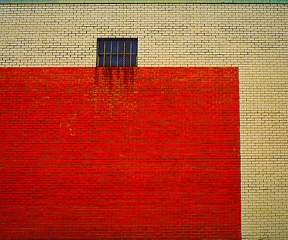 Red and Yellow Wall by Ross Odom