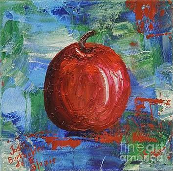 Red Apple Rhapsody-SOLD by Judith Espinoza