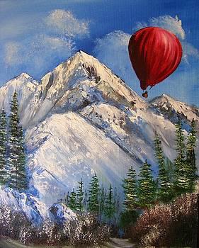 Red Balloon  by Crispin  Delgado