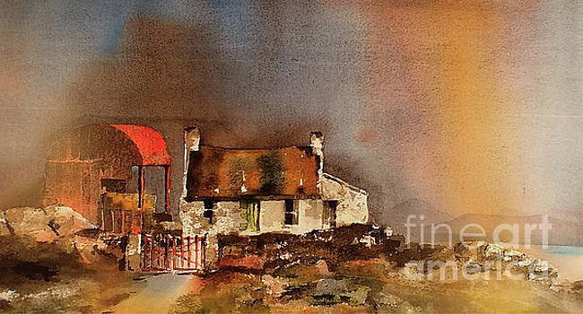 Red Barn 2 by Val Byrne