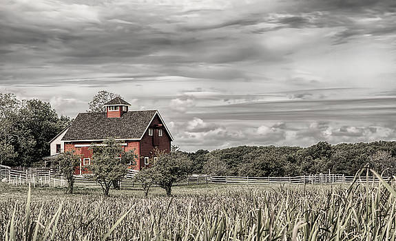 Mick Burkey - Red Barn