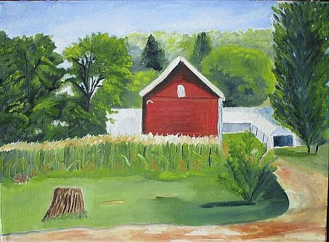 Red Barn by Rebecca Jackson
