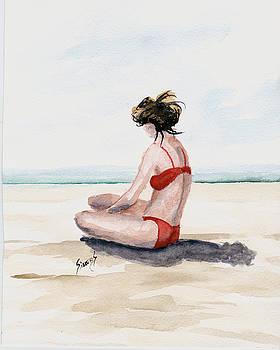 Red Bikini by Sam Sidders