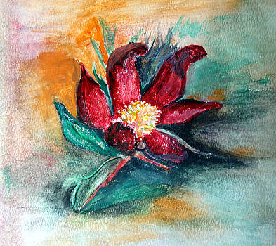 Red Bloom by Judie White