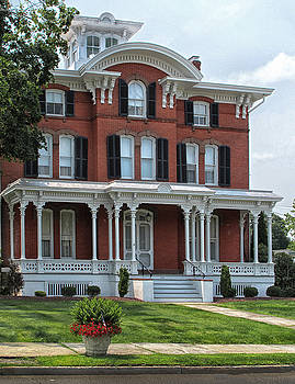 Red Brick Victorian House by Dave Mills