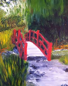 Red Bridge by Scott Hoke