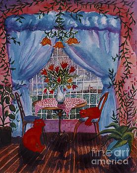 Red Cat Love by Cori Caputo