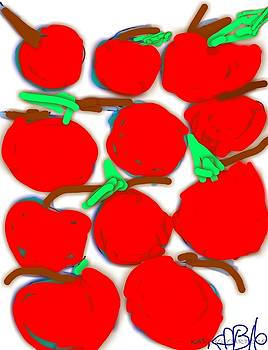 Red Cherries by Kathy Barney