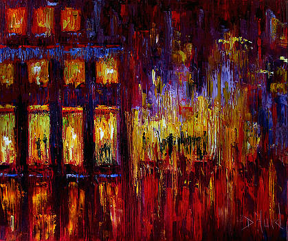 Red Corner by Debra Hurd