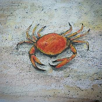 Red Crab by Heather  Gillmer