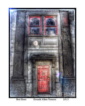 Red Door by Donald Yenson