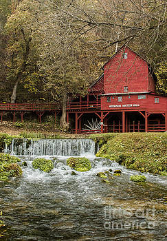 Red Flour Mill by Robert Frederick