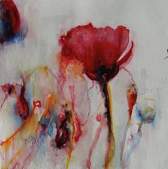Red Flowers by Tatiana Ilieva